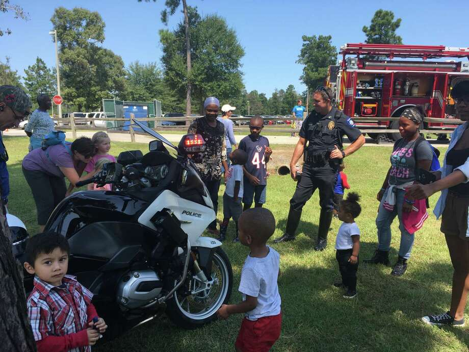 Kids Day at the Park begins at 11 am Sept. 14 with moonwalks, rock wall, petting zoo, and a display with our local first responders. Conroe Police Department, Conroe Fire Department, PHI Medical Helicopter, Montgomery County Hospital District Ambulance, and food! Kiwanis Kids Day in the Park continues until 2 p.m. Photo: Courtesy Photo