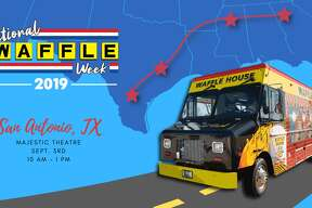Waffle House is coming to San Antonio, for a day at least. To celebrate National Waffle Week, the chain will park a restaurant on wheels outside the Majestic Theater on Sept. 3 and will be giving out waffles, hashbrowns and swag from 10 a.m. to 1 p.m.