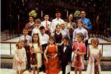 Yaroslav Kargin hosted his annual recital earlier this summer. In front are Jones Glenn, Arianna Angarita, Eden Levy Roginsky, Maxim Jayaweera, Arila Liu, and Lucia Coppola. In the second row are Martin Novak, Nathan Dai and Alessandra Gavriloiu. In the third row are Brendan Kaduboski, Gertrude Goldberg and Vaughn Slatoff. In back are Elena Brennan, Brandon Bao; Jordan Song, Sofia Pronina and Kargin. Contributed photo