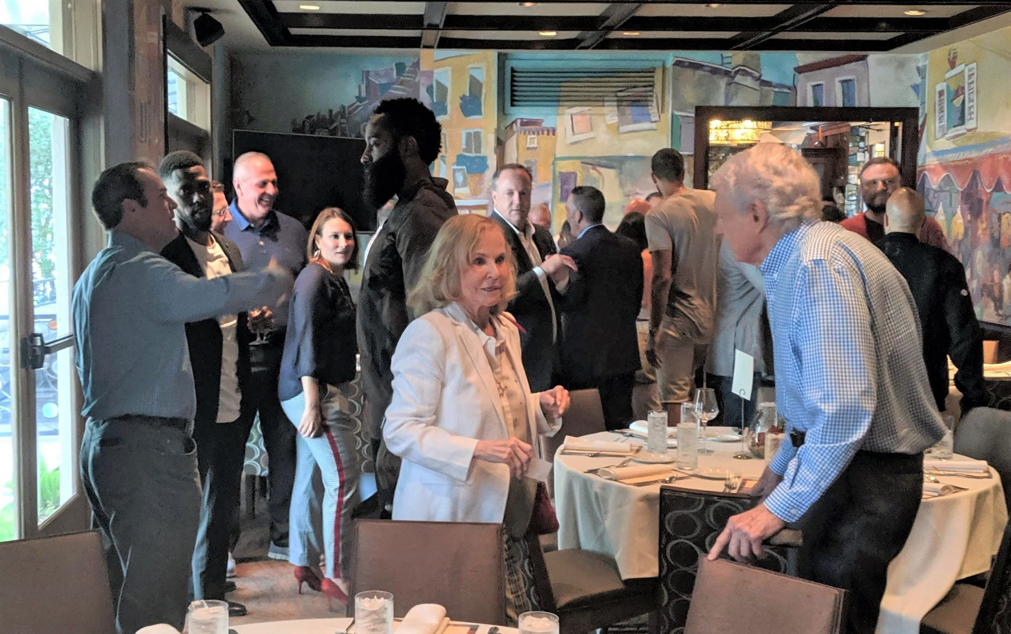 James Harden, Russell Westbrook head to La Griglia in River Oaks for charity luncheon