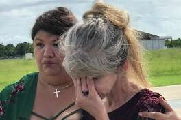 A young couple was killed Friday in a car wreck on Texas 87 on their way back from being married August 23, 2019. Kim Brent/The Enterprise
