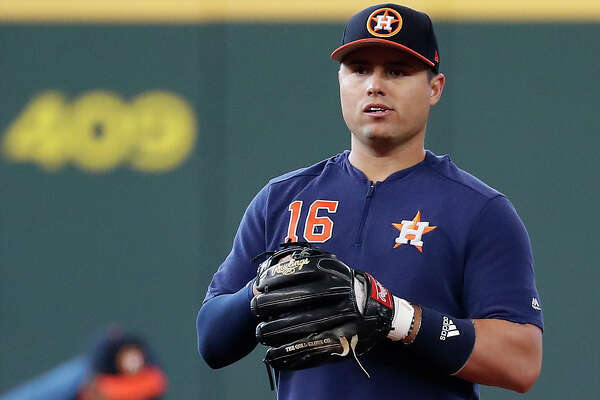 Houston Astros Aledmys Diaz during batting practice before the start of an MLB game at Minute Maid Park, Thursday, August 22, 2019.