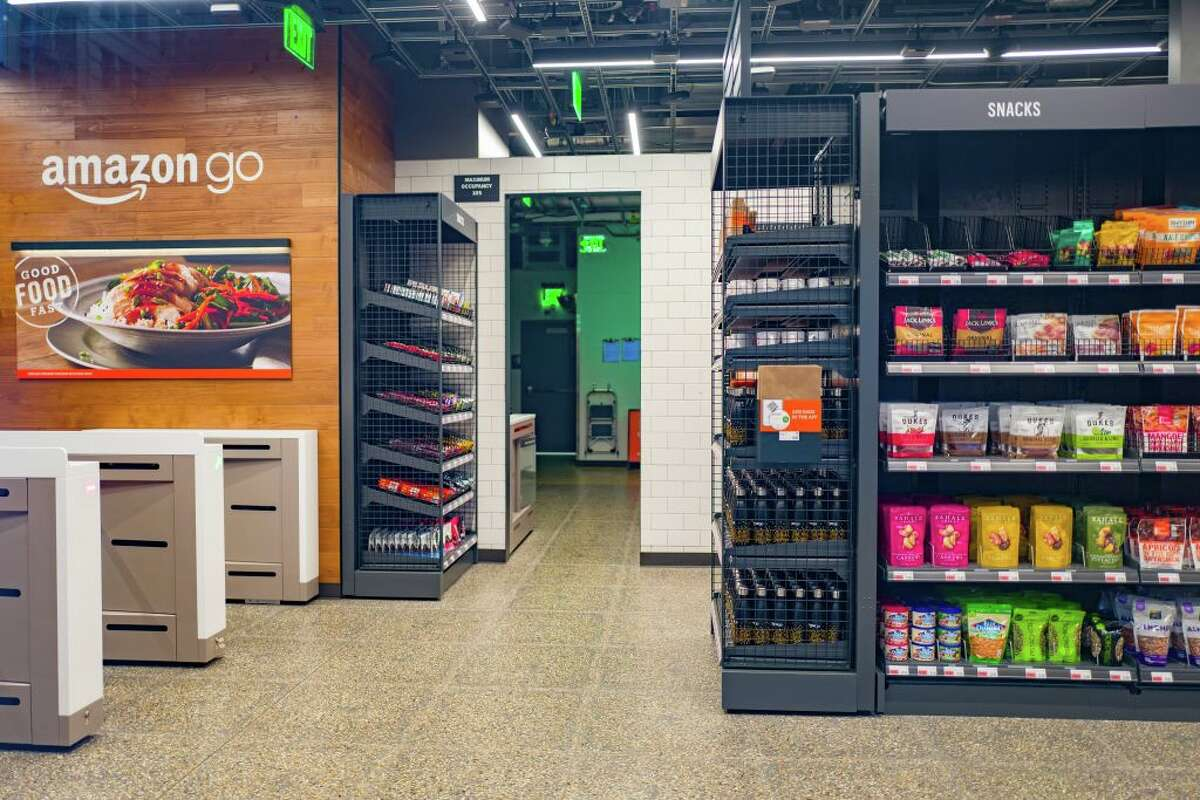Amazon Go stores are a physical retail store operated by Amazon in which shoppers are able to take items from shelves and exit without a checkout process, having their items automatically charged to their Amazon Prime account. Cashless stores are banned from San Francisco starting Friday, and stores like these will need to make accepting cash an option.