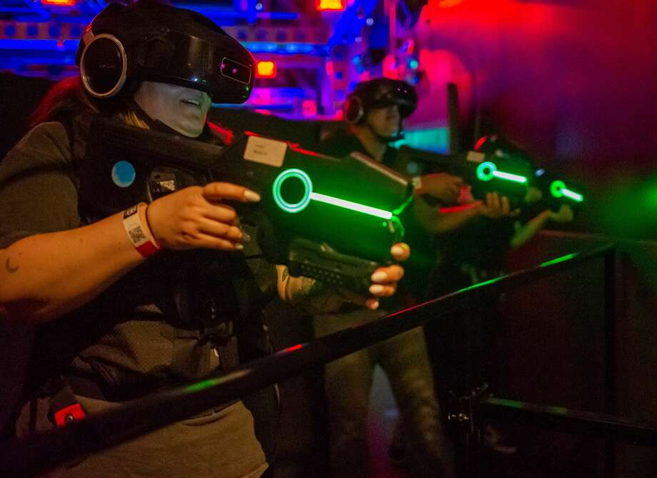 Players enjoying virtual reality experiences at The VOID. Photo: Courtesy Of The VOID