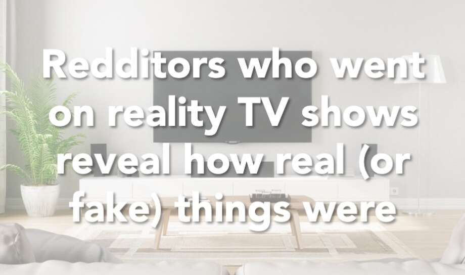 Click through the gallery to see what Redditors had to say about their experiences on reality TV. Photo: Imaginima/Getty Images/iStockphoto