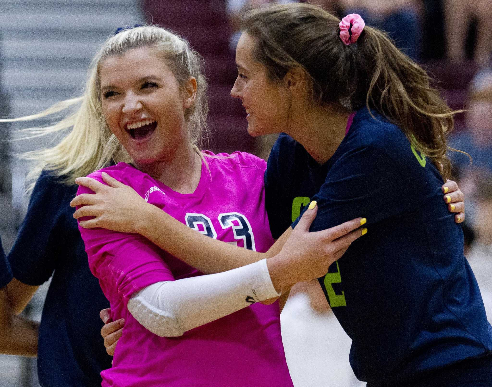 College Park volleyball takes down Magnolia