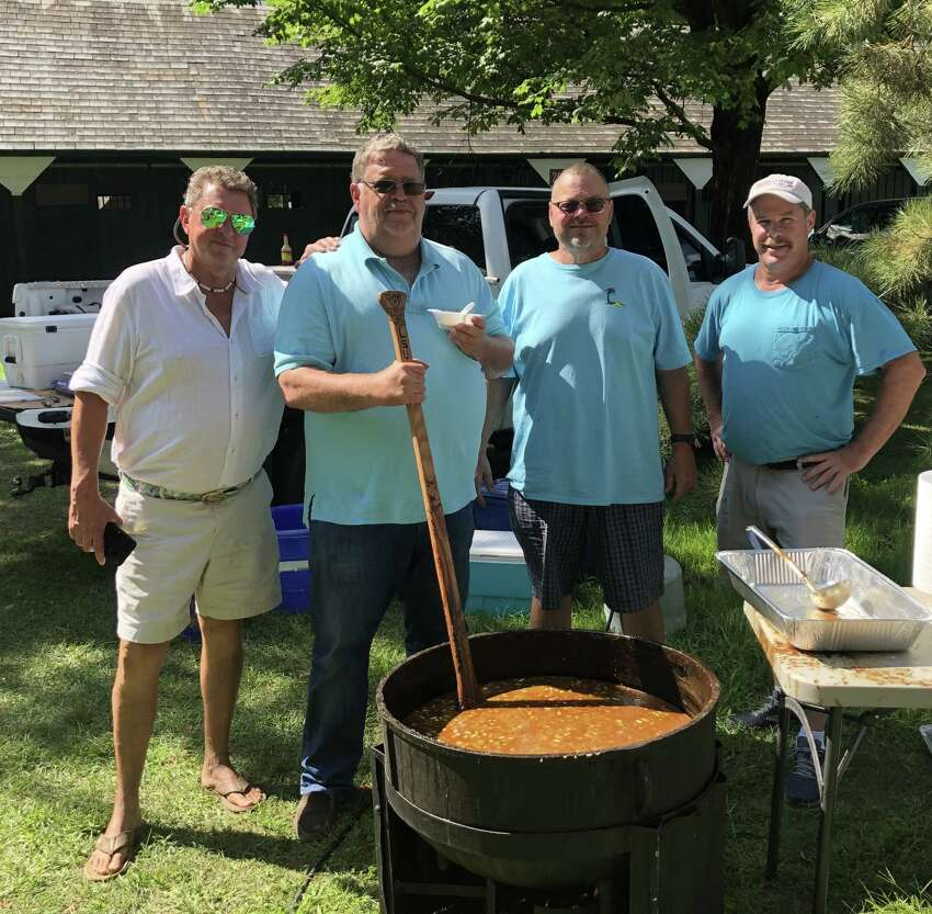 If you are into some real Cajun gumbo, the backstretch at Saratoga was the place to be on Friday. That's where trainer Eric Guillot shared his famous Louisiana cuisine with anyone who wanted it. It was dubbed