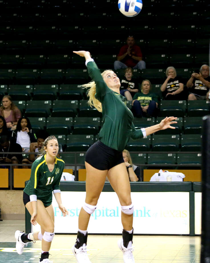 Midland College freshman and Big Spring grad Logan Terrazas on the attack versus the Cedar Valley College Suns, Friday at Chaparral Center. Photo courtesy of Forrest Allen, Midland College athletics Photo: Forrest Allen, Midland College Athletics