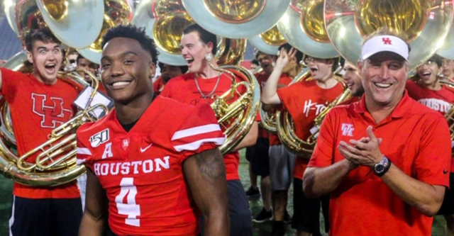 Highlights from UH football's annual Cage Rage