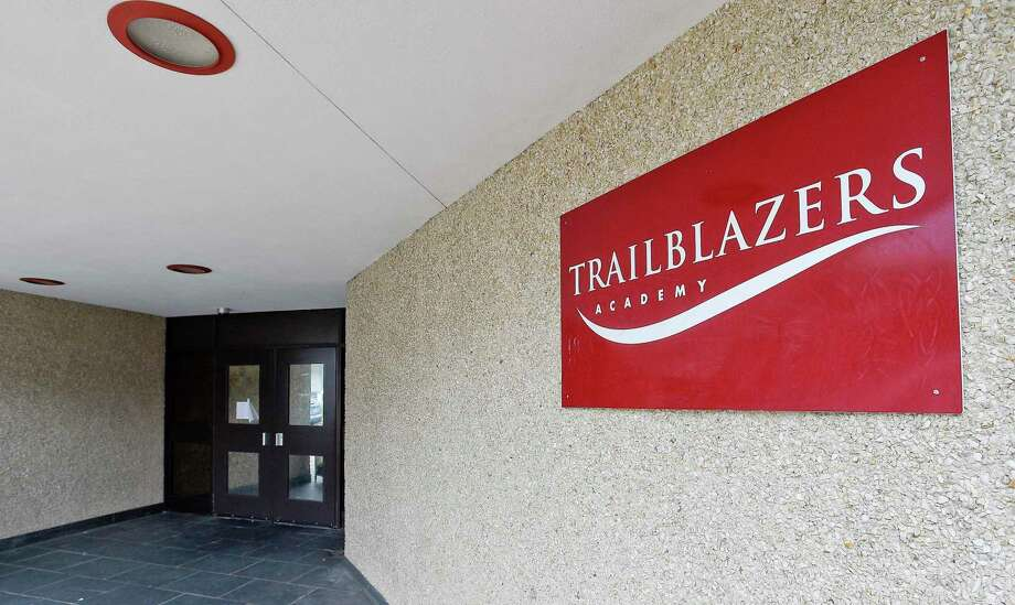 Trailblazers Academy, a charter middle school in Stamford photograph on July 23, 2019, recently announced it will not be reopening next year. Photo: Matthew Brown / Hearst Connecticut Media / Stamford Advocate