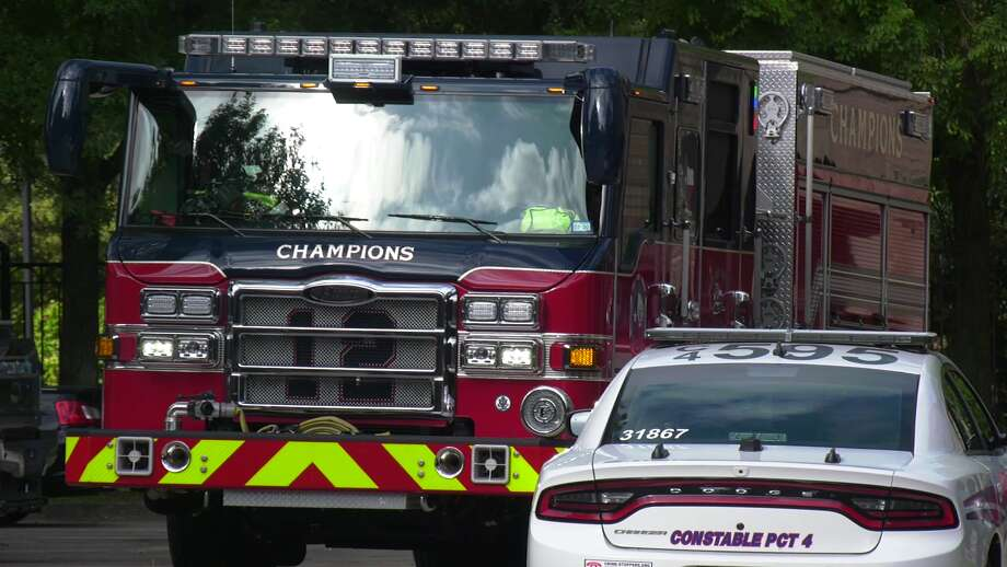 Cypress Creek firefighters responded Saturday morning to a carbon monoxide leak at an apartment complex in northwest Harris County. Photo: On Scene Video