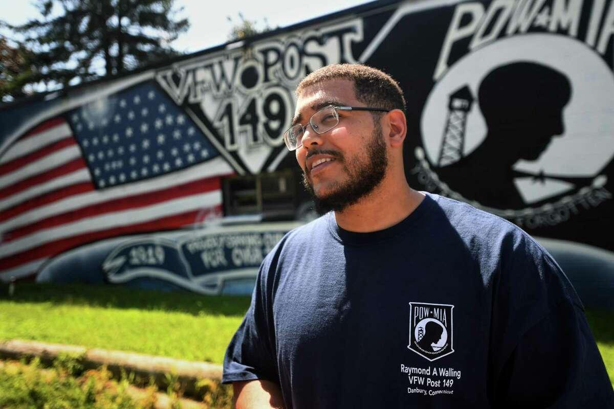 Juan Vasquez, quartermaster of Danbury VFW Post 149, will receive the 2019 American Dream Veteran Award next month.