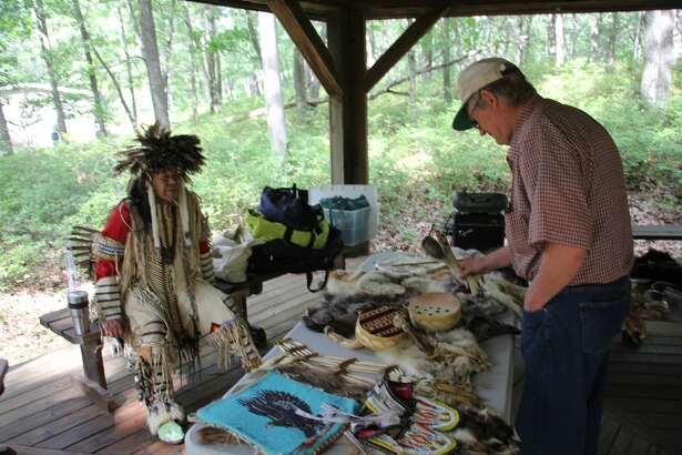 Locals came out to the Huron Nature Center in Port Austin for its first Three Sisters Festival. There, people could learn about different aspects of Native American life and history.