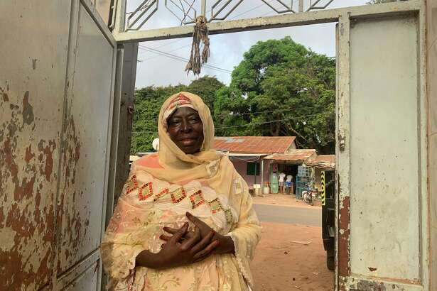 Ya Mamie Ceesay, 62, is the mother of Alhaji Mamut Ceesay, who was killed by members of former Gambian president Yahya Jammeh's hit squad known as the Junglers. They confessed to killing him, and one of his friends, in front of the Truth, Reconciliation and Reparations Commission in Banjul, Gambia.