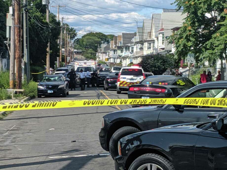 One person was reportedly wounded in a shooting on Pixlee Place in Bridgeport, Conn., on Saturday, Aug. 24, 2019. Photo: Contributed Photo /