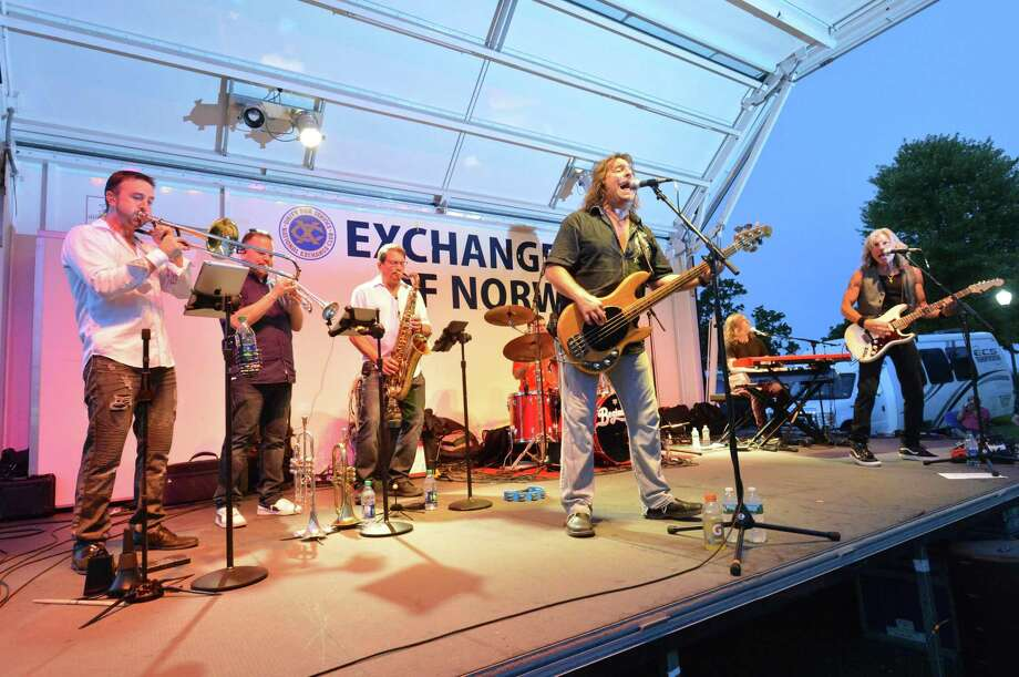 FILE PHOTO: The Chicago tribute band Beginnings performed to a huge crowd during the Norwalk Recreation and Parks 2018 Summer Concert Series at Calf Pasture Beach on Wednesday September 5, 2018 in Norwalk, Conn. Photo: Alex Von Kleydorff / Hearst Connecticut Media / Norwalk Hour
