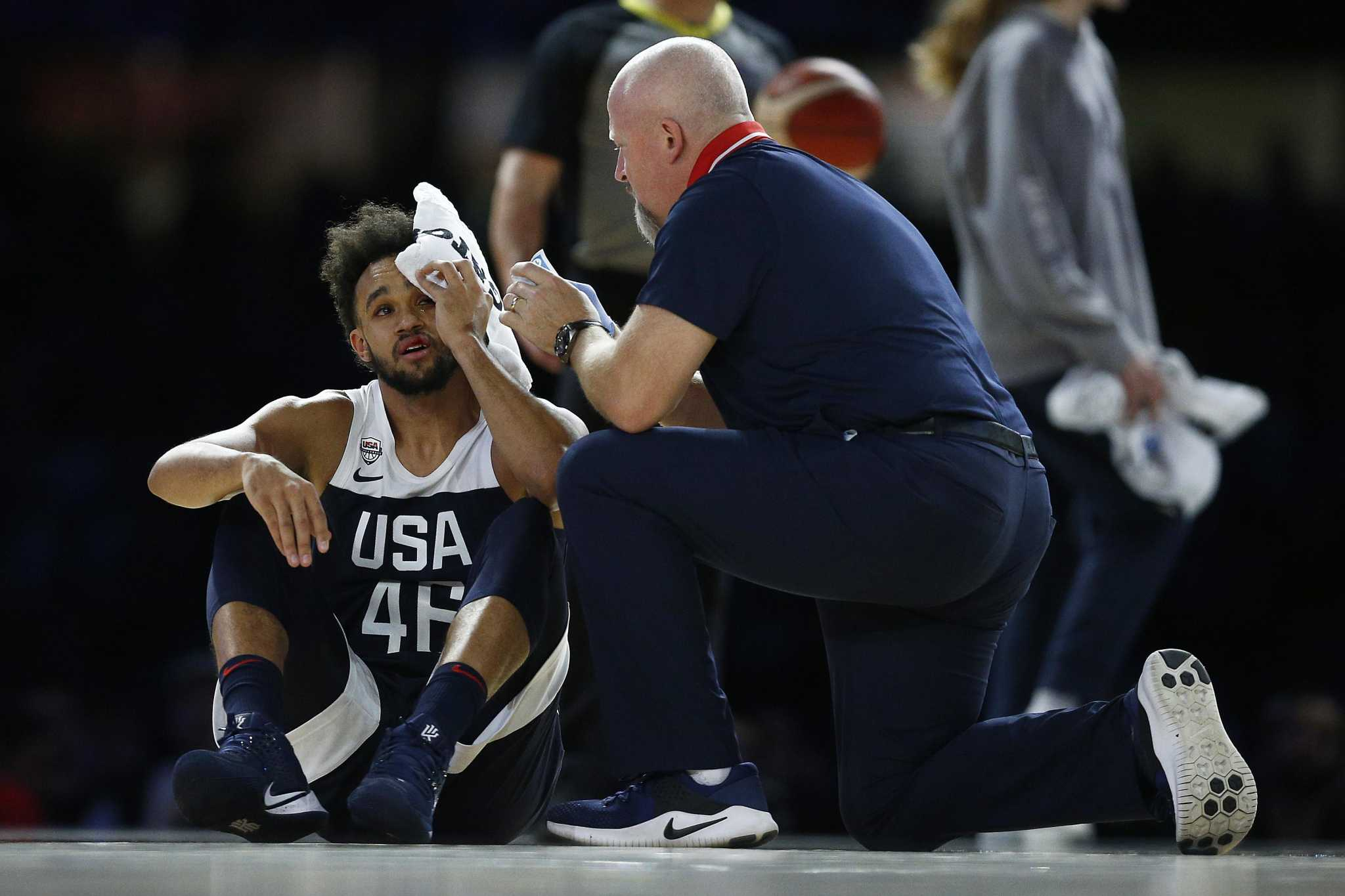 Derrick White makes Team USA, but injury puts status in doubt