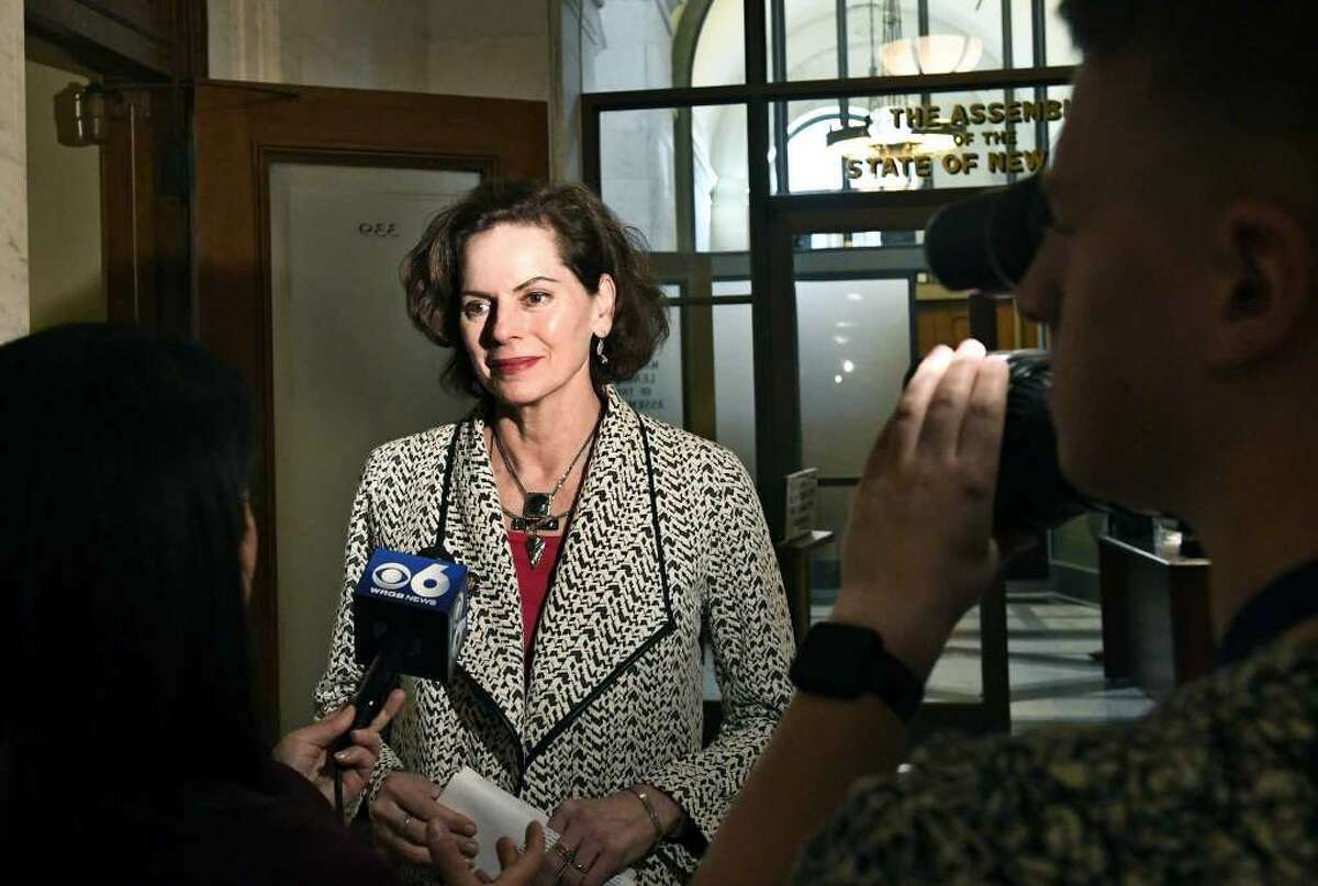 I'm often asked at networking events if I'm related to Assemblymember Pat Fahy. I'm not, but we're all on the same side of the aisle. If I lived in her district, I would vote for her!
