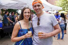 Downtown New Haven's annual outdoor craft beer festival was held August 24, 2019 at Temple Plaza Courtyard. The event featured beer from 30 local and regional breweries and. Festival goers enjoyed drink samples, music, food and games. Were you SEEN?