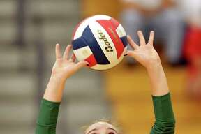 The Woodlands setter Clara Brower helped her team to a third-place finish at the Leander Volleypalooza over the weekend.
