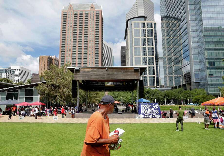 Discovery Green on Saturday, Aug. 24, 2019 Photo: Michael Wyke / Contributor / © 2019 Houston Chronicle