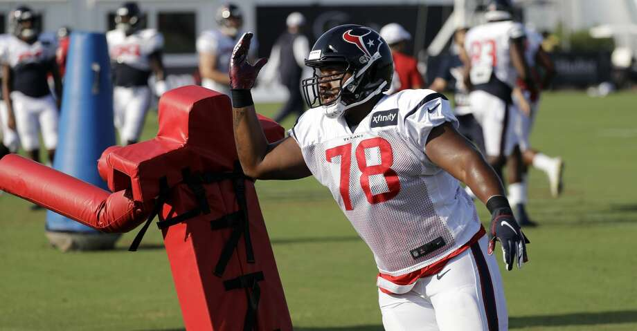 0198db57 Javier 'Big Sexy' Edwards making Texans roster bid - Houston Chronicle