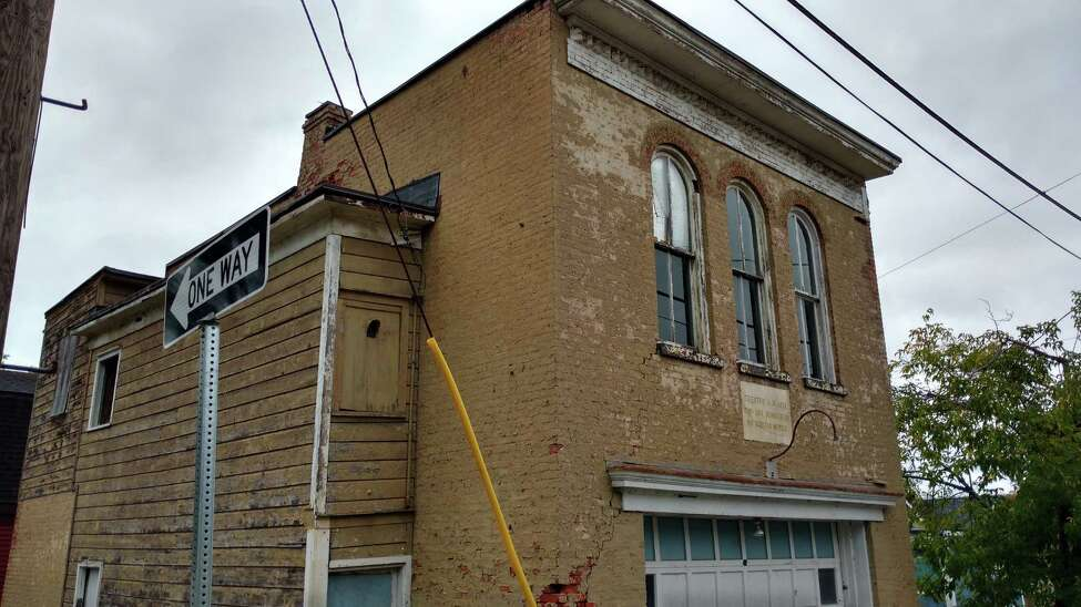 The village od Castlton-on-Hudson will work with Landmark Consulting of Albany on a building condition report for this former fire company building. (Provided photo)