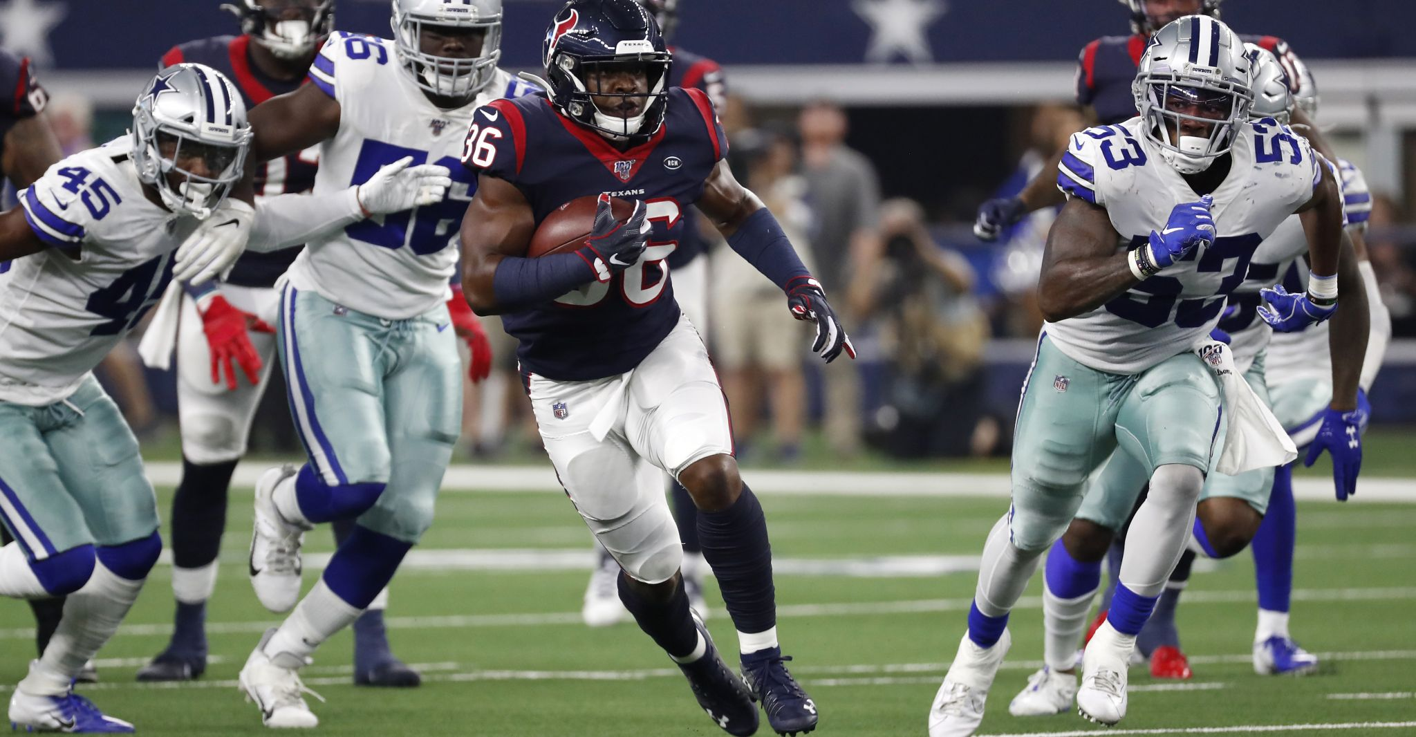 Texans-Cowboys rewind: 5 up, 5 down