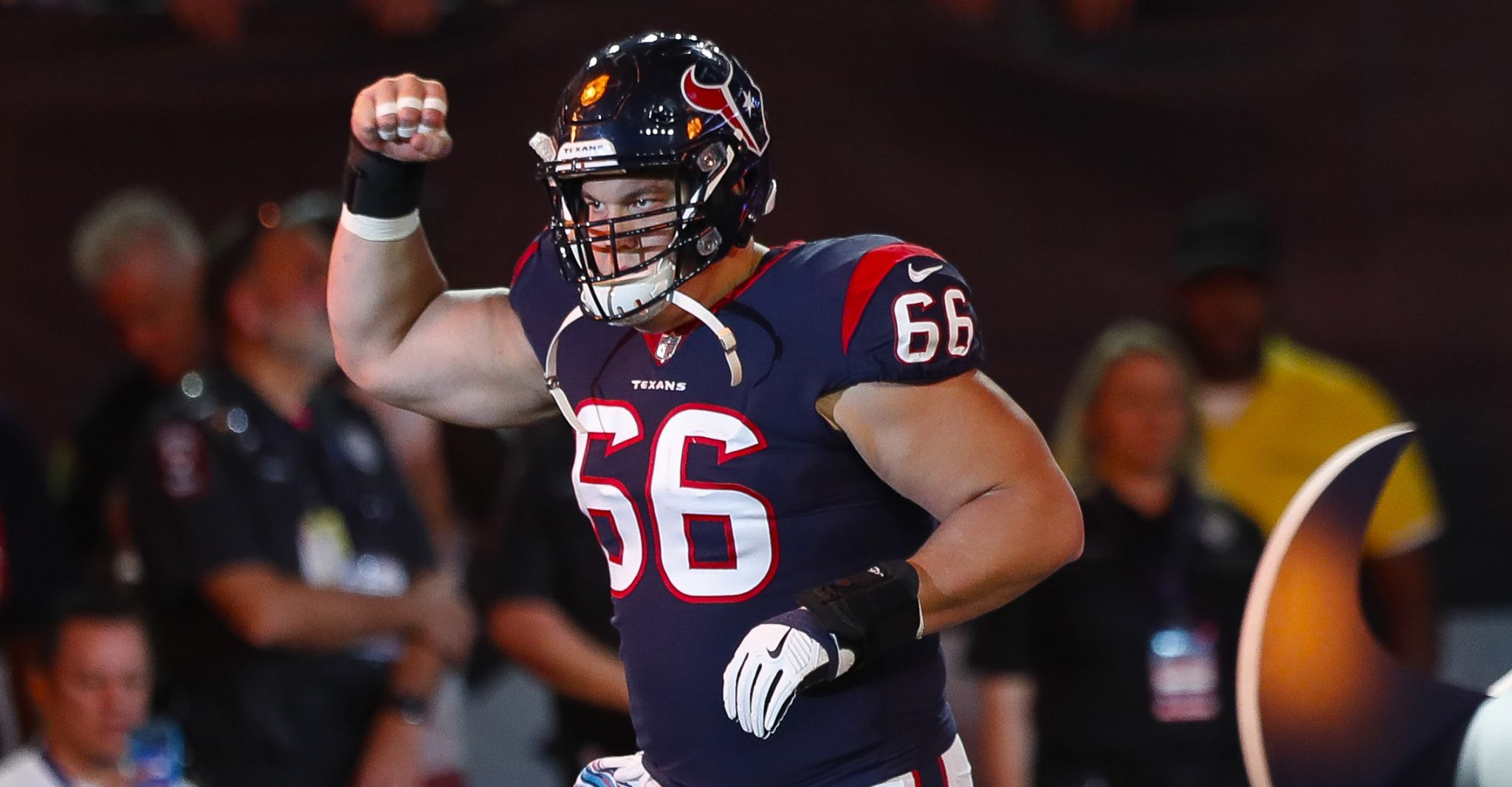 Rusty return for Texans center Nick Martin