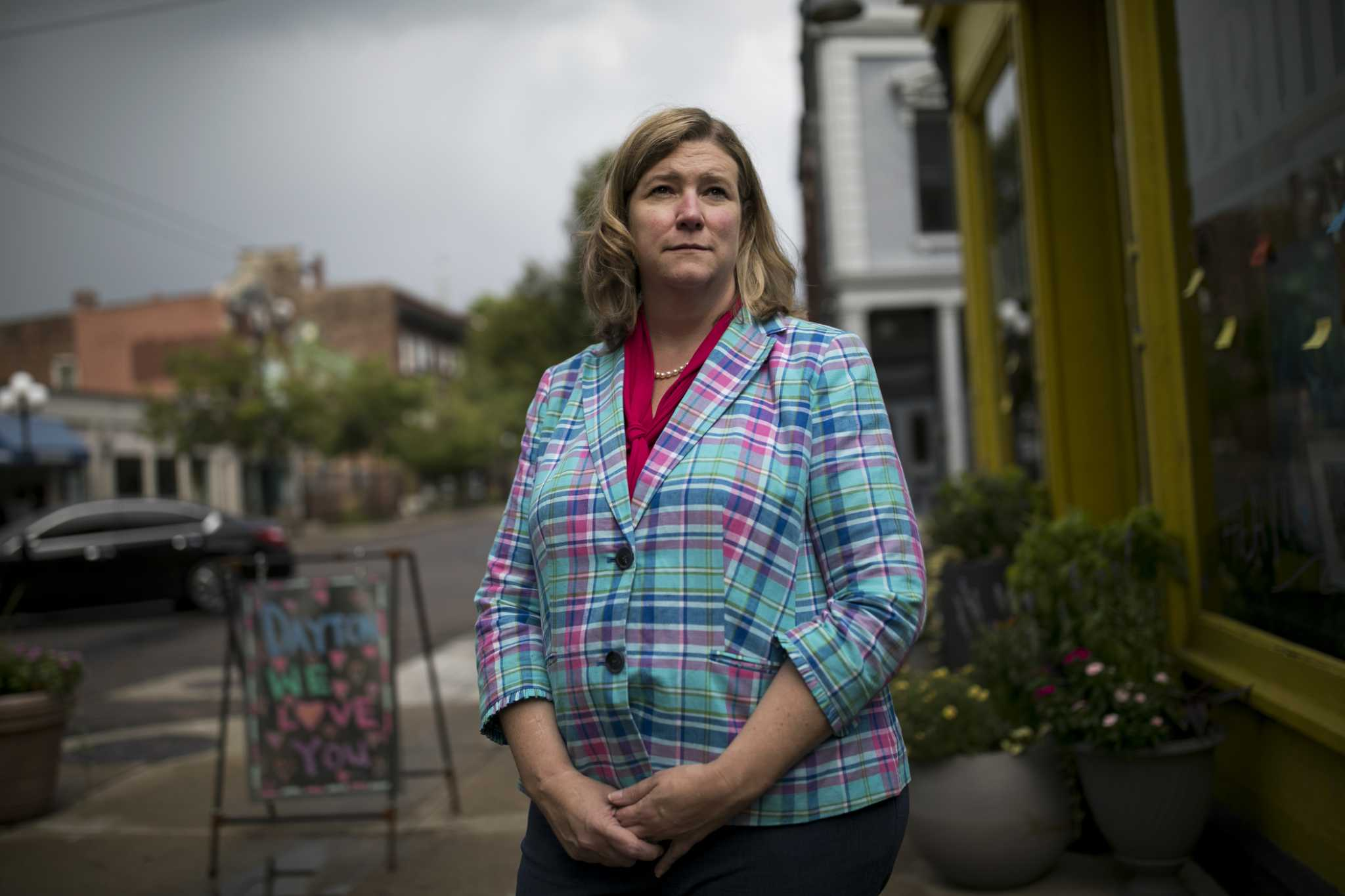 After shooting, Dayton Mayor Nan Whaley decided to speak up