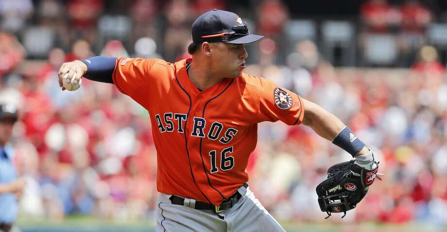 PHOTOS: Astros game-by-game Houston Astros third baseman Aledmys Diaz throws out St. Louis Cardinals' Tommy Edman at first during the first inning of a baseball game Sunday, July 28, 2019, in St. Louis. (AP Photo/Jeff Roberson) Browse through the photos to see how the Astros have fared in each game this season. Photo: Jeff Roberson/Associated Press