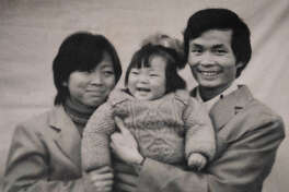 "A photograph of a Chinese family shown in the documentary ""One Child Nation."""