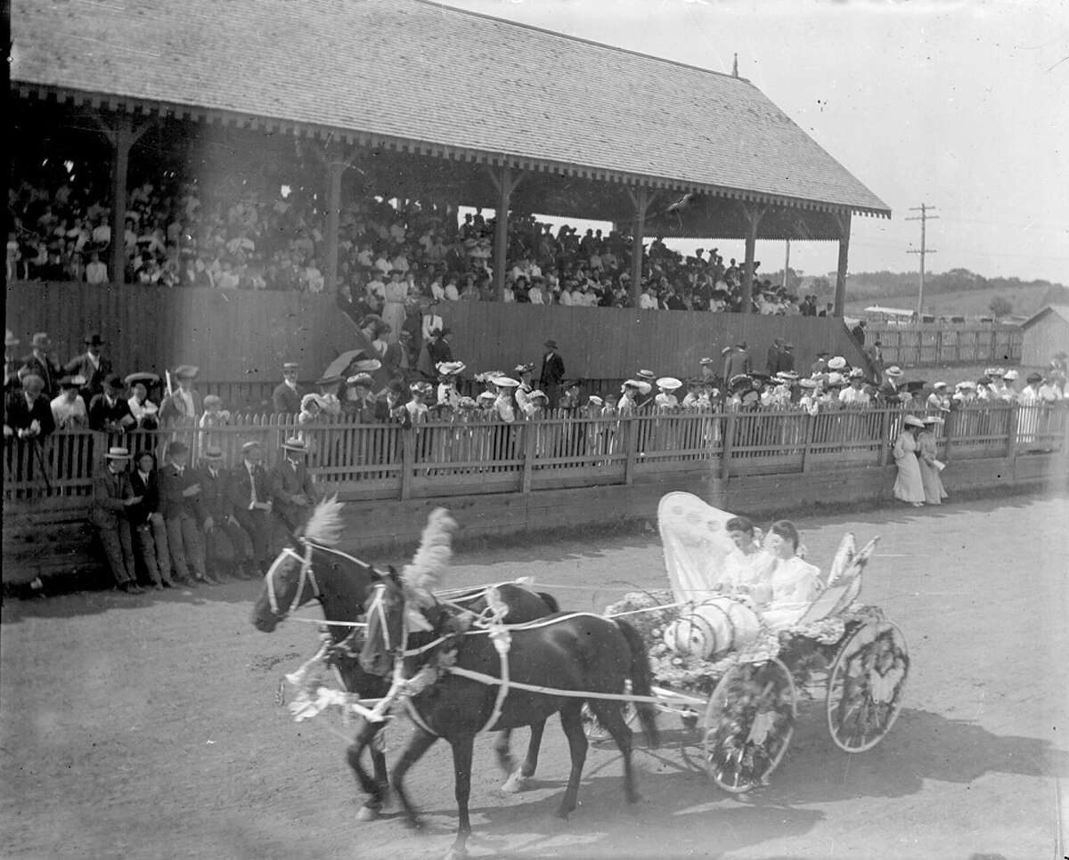 Historical photo of the Schaghticoke Fair, which begins is 200th season. The fair is one of the oldest in the state.