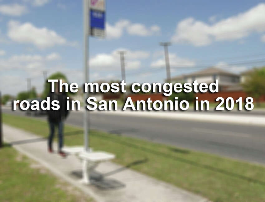 Click ahead to find the stretches of roads and highways where San Antonio drivers sat through the most traffic in 2018, according to Texas A&M Transportation Institute.