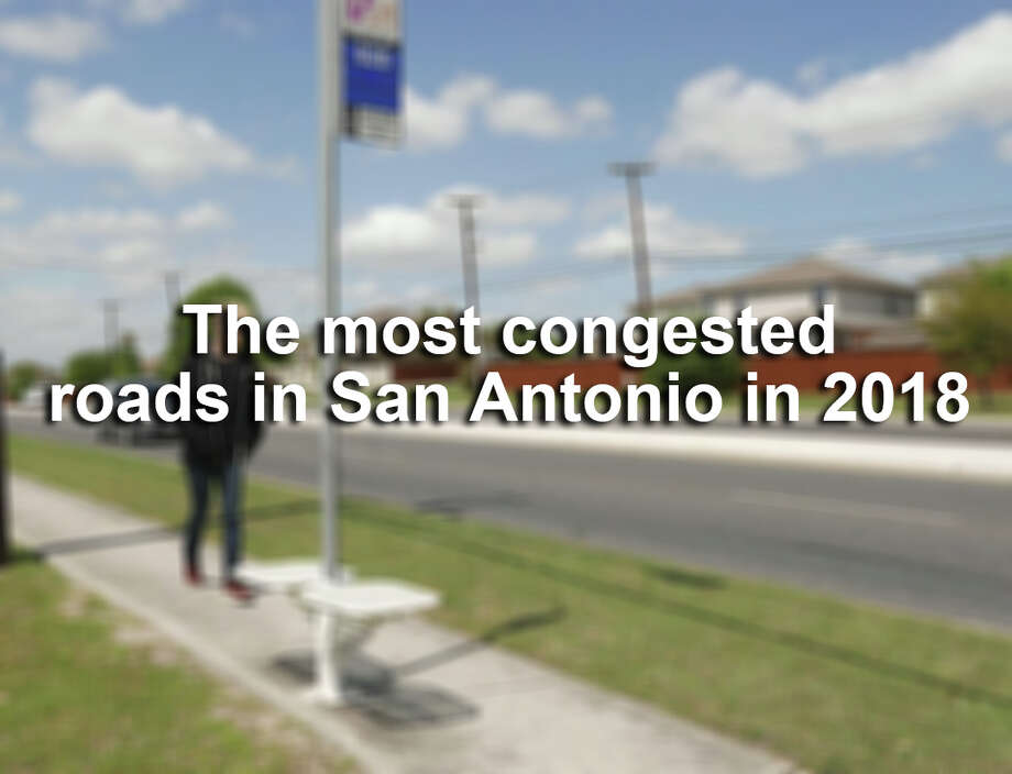 Click ahead to find the stretches of roads and highways where San Antonio drivers sat through the most traffic in 2018, according to Texas A&M Transportation Institute. / San Antonio Express-News