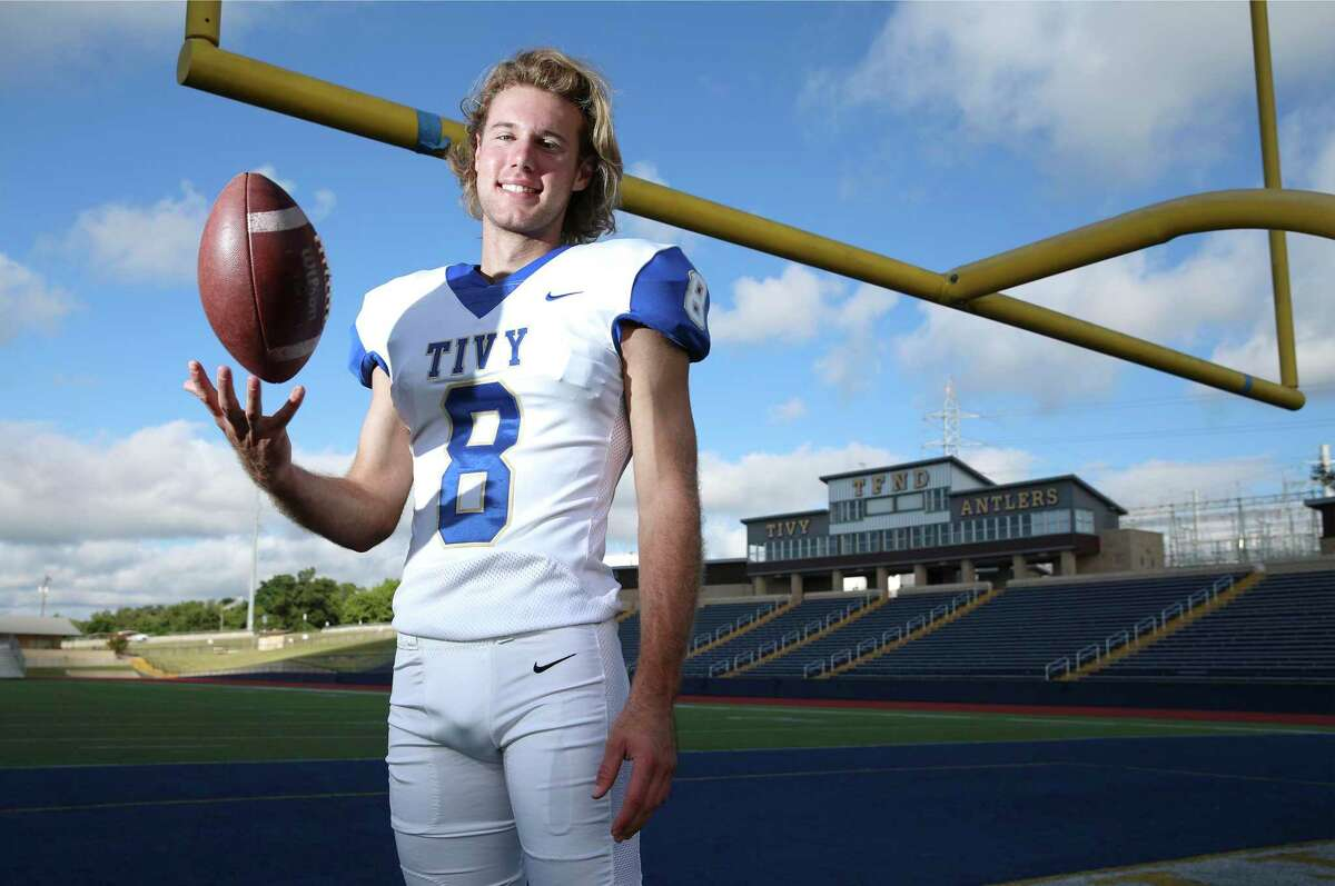 Jared Zirkel's size (6-foot-3, 185 pounds) and athleticism separates him from other kickers, Kerrville Tivy coach David Jones said.