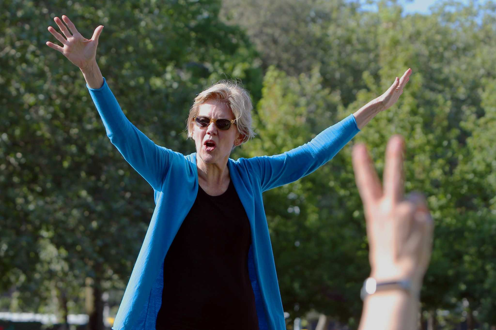 Seattle Democrats and debate watchers cheer passion of Democratic presidential candidates