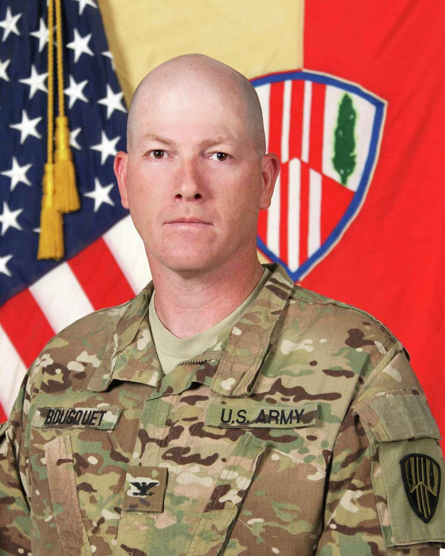 COL Stephen M. Bousquet, Commander, 369th Sustainment Brigade