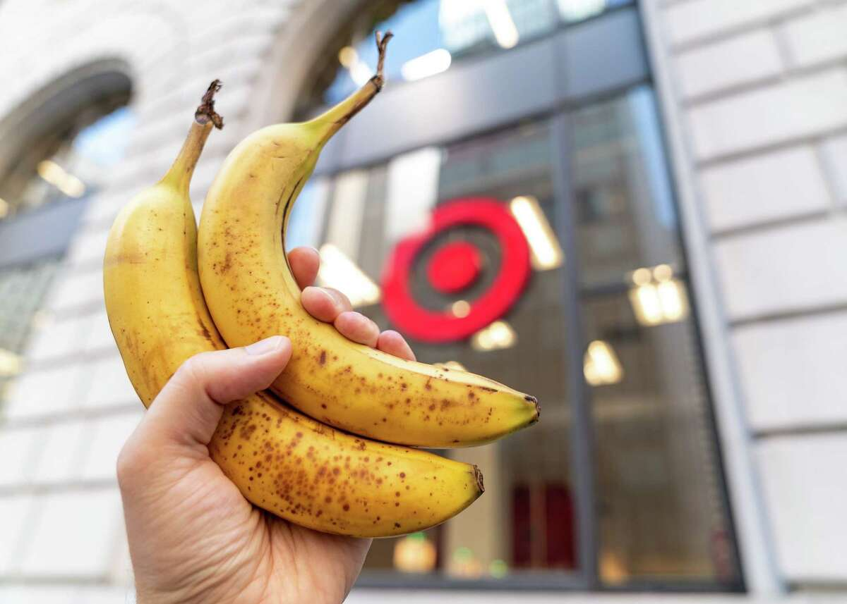 For The Washington Post's credit privacy experiment, two bananas were purchased at Target.
