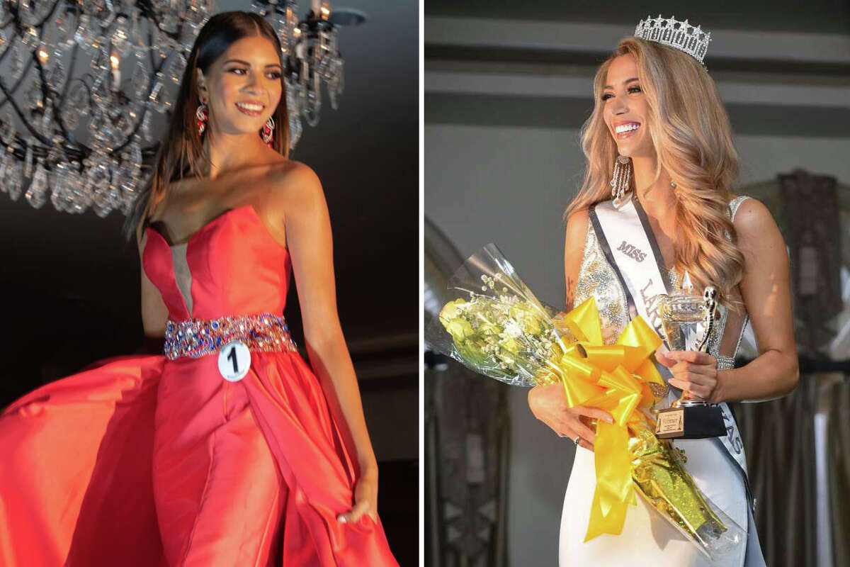 Chelsea Morgensen, Miss Laredo USA (right), and Marcela Ayala, Miss Southwest Texas (left), are shown in this file photo.