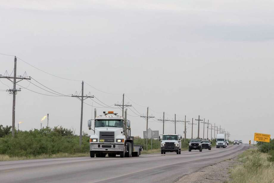 The U.S. Transportation Department announced the grant winners Tuesday. They include the U.S. 285 safety and resiliency project in the Permian Basin, where an oil boom has resulted in increased traffic. Photo: Bloomberg Photo By Steven St. John / Bloomberg
