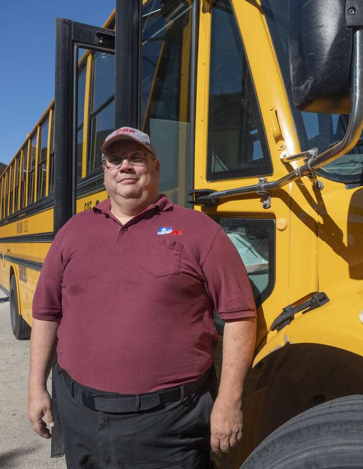 Educator Honor Roll honors MISD bus driver Paul Becker. 08/26/19   Tim Fischer/Reporter-Telegram Photo: Tim Fischer/Midland Reporter-Telegram