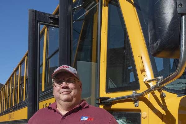 Educator Honor Roll honors MISD bus driver Paul Becker. 08/26/19 Tim Fischer/Reporter-Telegram