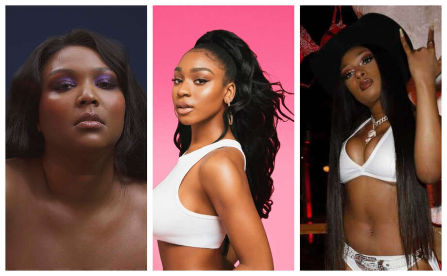 Lizzo, Normani and Megan Thee Stallion are repping Houston to the world. Photo: Photo Collage