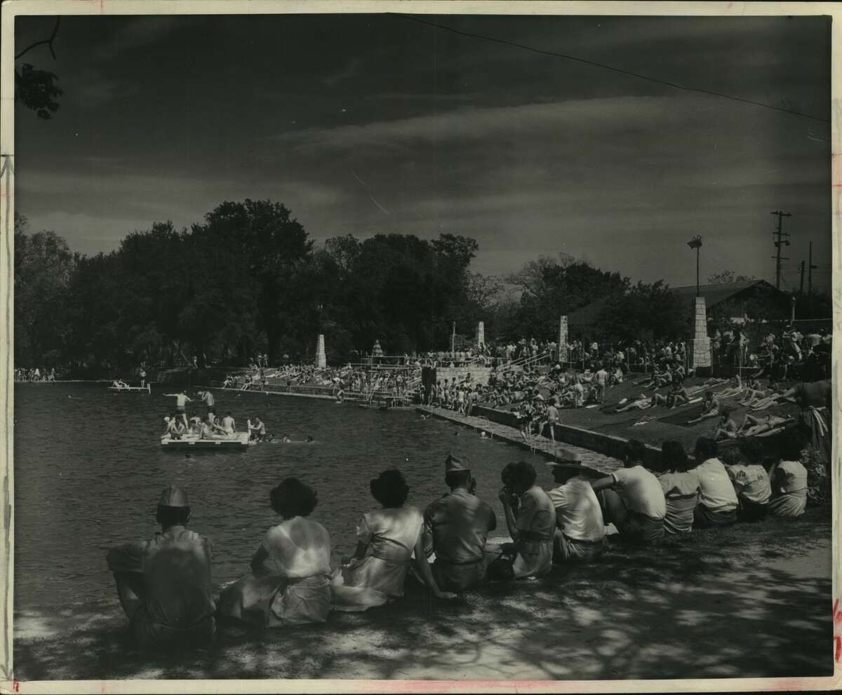 The Landa Park swimming pool in New Braunfels is the largest outdoor pool in the Southwest. The municipally owned park has a recently complete three-mile train ride. The park has an excellent nine-hole golf course, boating, fishing, horseback riding, other recreation facilities.