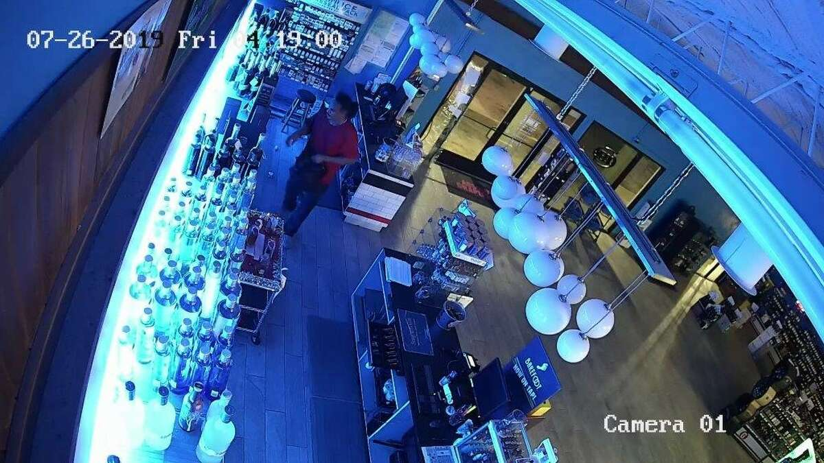 San Antonio police and Crime Stoppers are offering an award for the identification and location of a man accused of robbing a liquor store on the city's Northwest Side on three separate occasions.