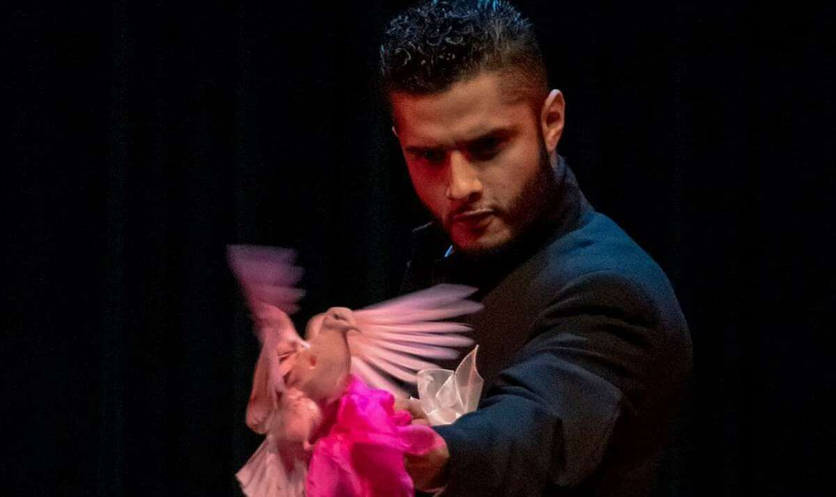 Memphis, Tennessee magician Lucio Martinez once almost lost a dove while performing in San Antonio.