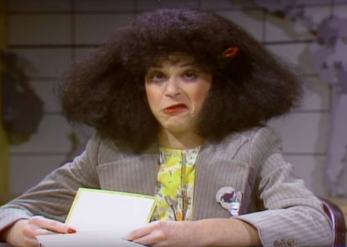 """Rosanne Rosannadanna - Host: Steve Martin - Season: 3 - Episode: 55 Created by the late Gilda Radner, who was an SNL cast member from 1977 to 1980, Rosanne Rosannadanna was a character featured on the """"Weekend Update"""" segment of the show. Using the catchphrase """"It's always something,"""" Radner's character would editorialize on various social issues, which would inevitably segue into inappropriate discussions about her personal hygiene and bodily functions. Radner passed away from cancer in 1989 at 42. This slideshow was first published on theStacker.com"""