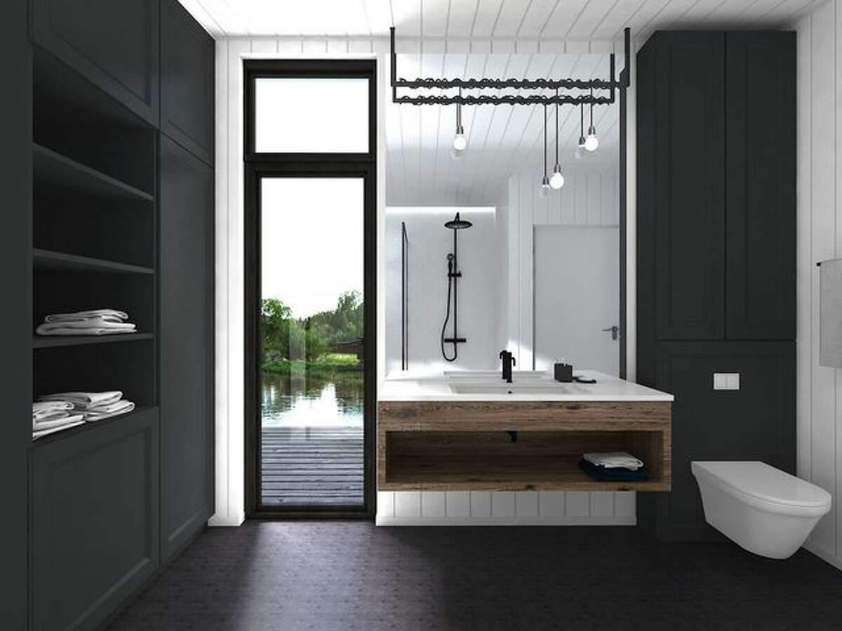 One of the bathroom design options