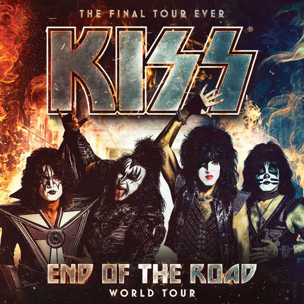 Poster of Kiss 2019 tour.